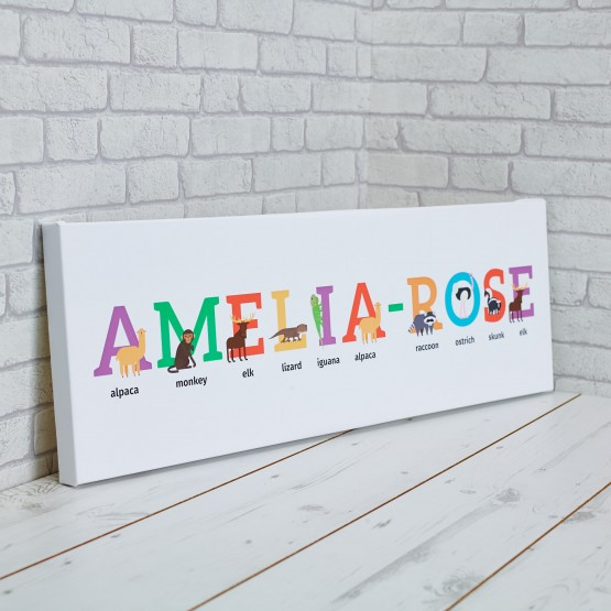 Canvas Prints For Childrens Name 0