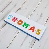 Kids Alphabet Canvas Prints