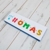 Kids Alphabet Canvas Prints