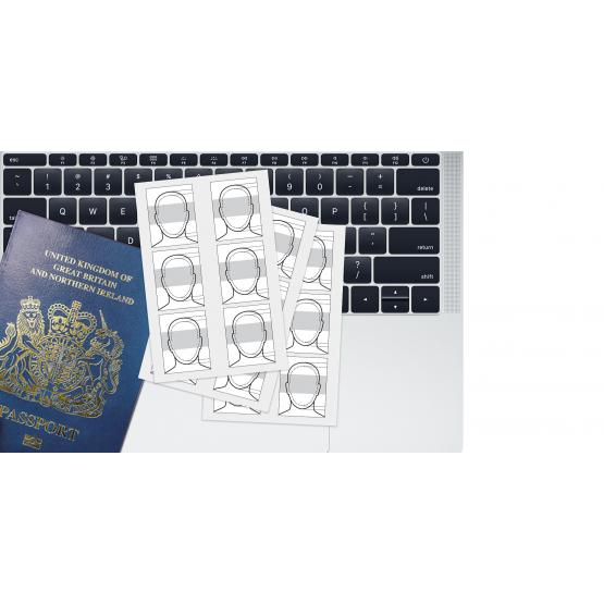 Passport Photo Prints (6 45x35mm)