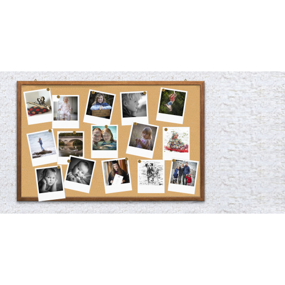 """Polaroid Photo Print -  4"""" x 5"""""""